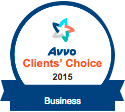 Avvo Clients Choice Business 2015