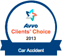 Avvo Clients Choice Car Accident 2013