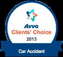 Avvo Clients Choice Car Accident 2013