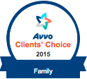 Avvo Clients Choice Family 2015