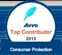 Avvo Top Contributor Consumer Protection 2015