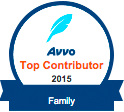 Avvo Top Contributor Family 2015