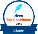 Avvo Top Contributor Litigation 2015