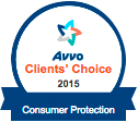 AVVO Client's Choice 2015 Consumer Protection