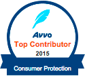 AVVO Top Contributor 2015 Consumer Protection