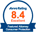 AVVO Rating 8.4 Excellent