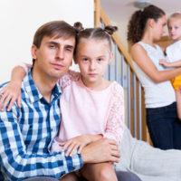 divorce couple still living together